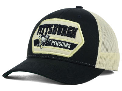Pittsburgh Penguins Reebok NHL Patched Trucker Cap