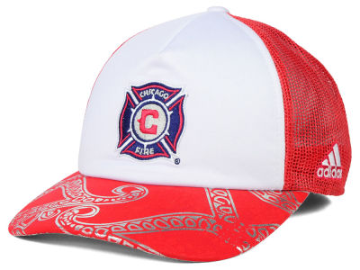 Chicago Fire adidas MLS 2015 Women's Trucker Cap