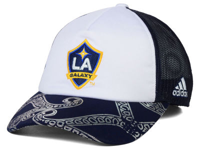 LA Galaxy adidas MLS 2015 Women's Trucker Cap