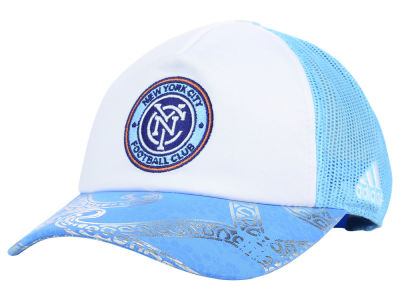 New York City FC adidas MLS 2015 Women's Trucker Cap