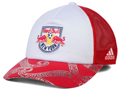 New York Red Bulls adidas MLS 2015 Women's Trucker Cap
