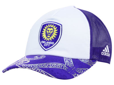 Orlando City SC adidas MLS 2015 Women's Trucker Cap