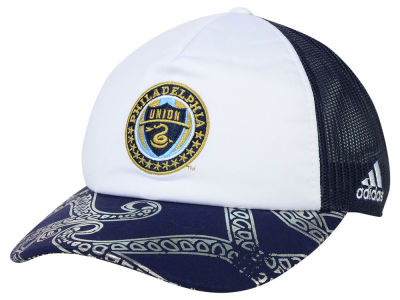 Philadelphia Union adidas MLS 2015 Women's Trucker Cap