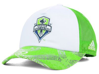 Seattle Sounders FC adidas MLS 2015 Women's Trucker Cap