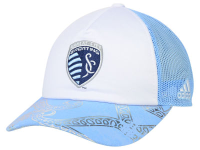 Sporting Kansas City adidas MLS 2015 Women's Trucker Cap
