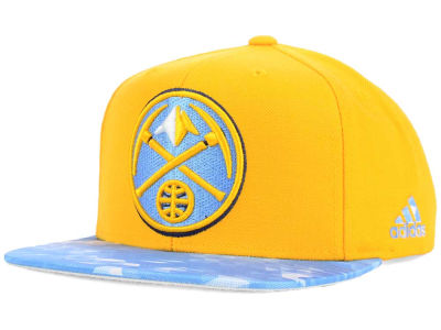 Denver Nuggets adidas NBA City Pulse Snapback Cap