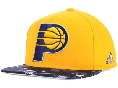 Indiana Pacers adidas NBA City Pulse Snapback Cap