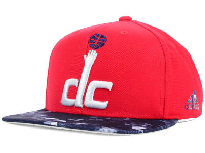 Washington Wizards adidas NBA City Pulse Snapback Cap