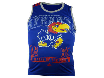 Kansas Jayhawks adidas NCAA Men's Campus Tank