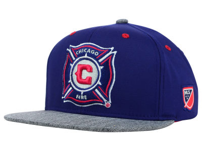 Chicago Fire adidas MLS 2015 Team Snapback Cap