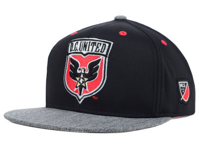 DC United adidas MLS 2015 Team Snapback Cap