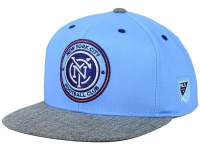 New York City FC adidas MLS 2015 Team Snapback Cap
