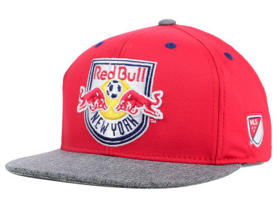 New York Red Bulls adidas MLS 2015 Team Snapback Cap