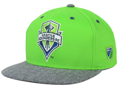 Seattle Sounders FC adidas MLS 2015 Team Snapback Cap