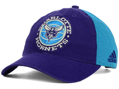 Charlotte Hornets adidas NBA Team Nation Slouch Cap