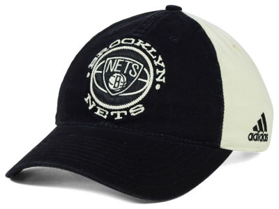 Brooklyn Nets adidas NBA Team Nation Slouch Cap
