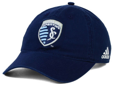 Sporting Kansas City adidas MLS Basic Slouch Cap