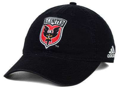 DC United adidas MLS Basic Slouch Cap