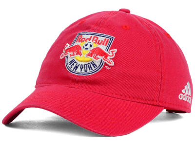 New York Red Bulls adidas MLS Basic Slouch Cap