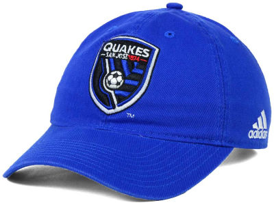 San Jose Earthquakes adidas MLS Basic Slouch Cap