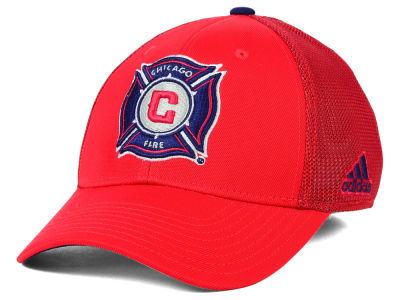Chicago Fire adidas MLS 2015 Net Burner Cap