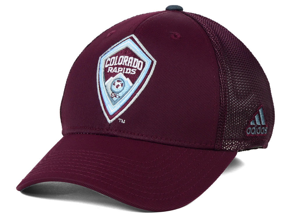 694601d422a Colorado Rapids adidas MLS 2015 Net Burner Cap
