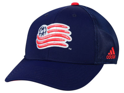 New England Revolution adidas MLS 2015 Net Burner Cap