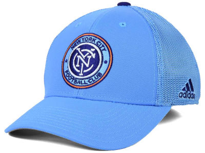 New York City FC adidas MLS 2015 Net Burner Cap