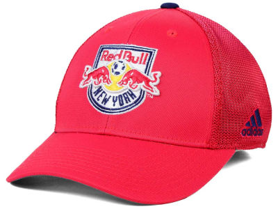 New York Red Bulls adidas MLS 2015 Net Burner Cap