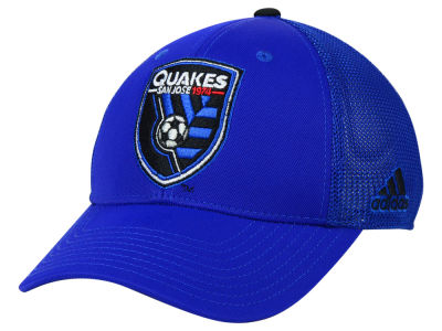 San Jose Earthquakes adidas MLS 2015 Net Burner Cap