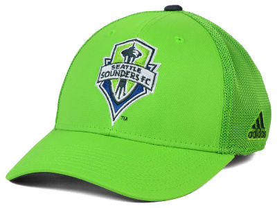 Seattle Sounders FC adidas MLS 2015 Net Burner Cap