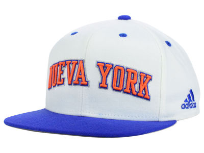 New York Knicks adidas NBA Noches Enebea Snapback Cap