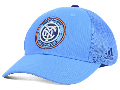 New York City FC adidas MLS 2015 Net Burner Kids Hat