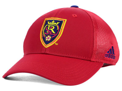 Real Salt Lake adidas MLS 2015 Net Burner Kids Hat