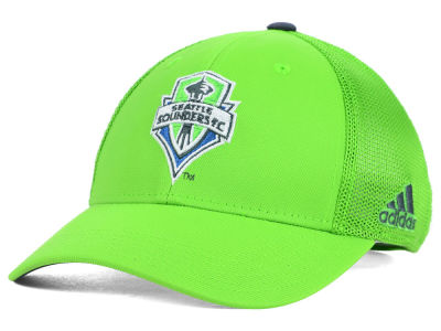 Seattle Sounders FC adidas MLS 2015 Net Burner Kids Hat