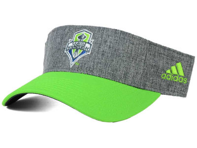 Seattle Sounders FC adidas MLS 2015 Team Visor
