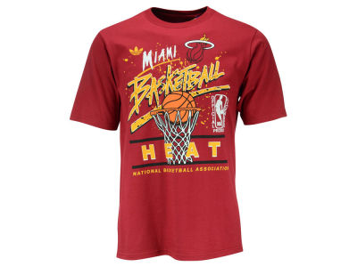 Miami Heat adidas NBA Men's Originals Standard Throwback T-Shirt