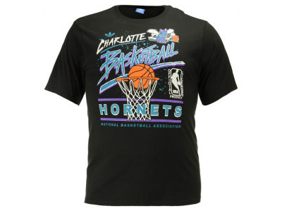 Charlotte Hornets adidas NBA Men's Originals Standard Throwback T-Shirt