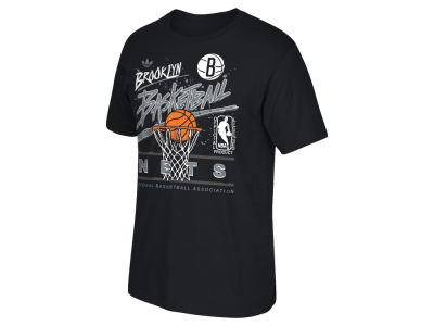Brooklyn Nets adidas NBA Men's Originals Standard Throwback T-Shirt