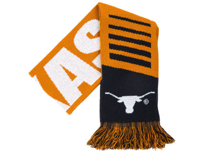 Texas Longhorns Knit Scarf Wordmark