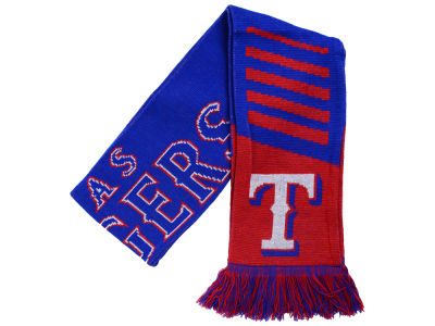 Texas Rangers Knit Scarf Wordmark