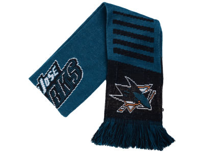 San Jose Sharks Knit Scarf Wordmark