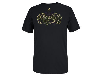 San Antonio Spurs adidas NBA Men's Pride Logo T-Shirt
