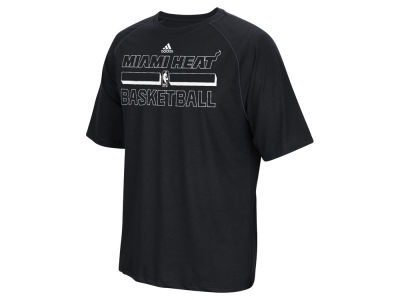Miami Heat adidas NBA Men's Pride Climalite T-Shirt