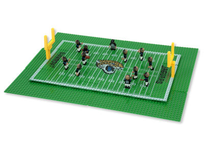 Jacksonville Jaguars OYO Football Team Game Time Set