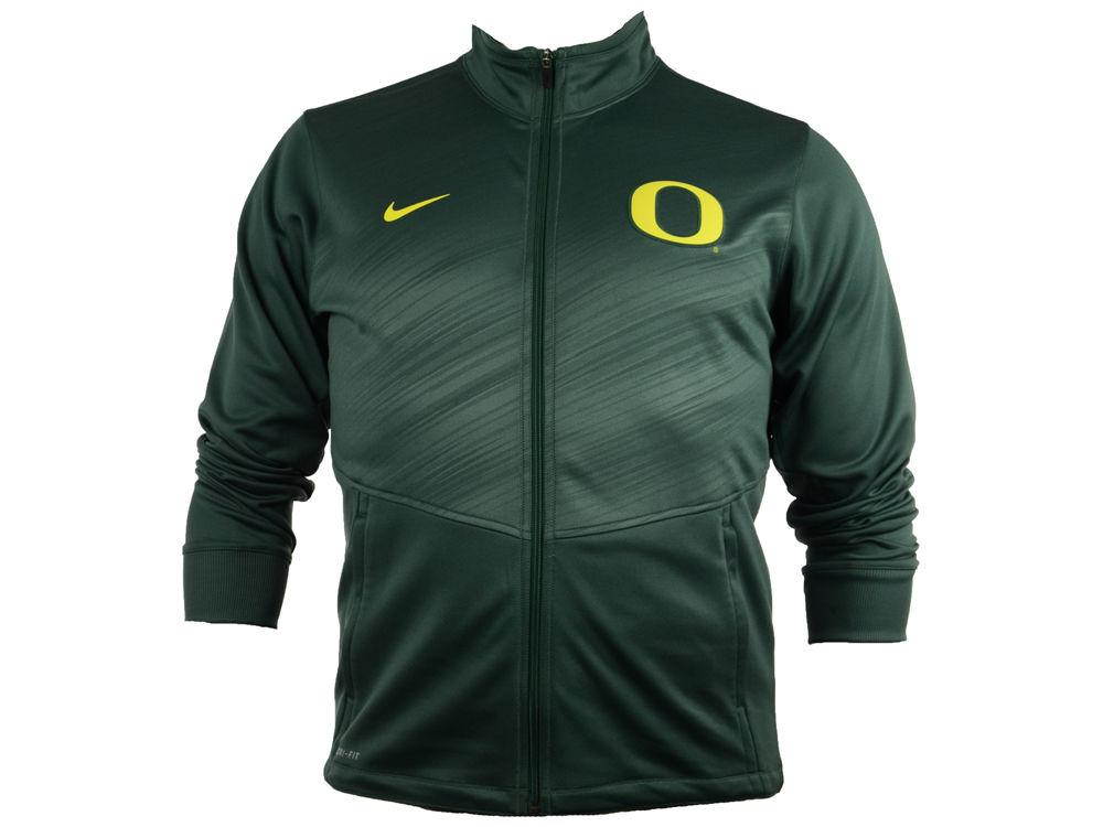 Oregon Ducks Nike NCAA Men s Warp Zip Up Jacket  67df000be