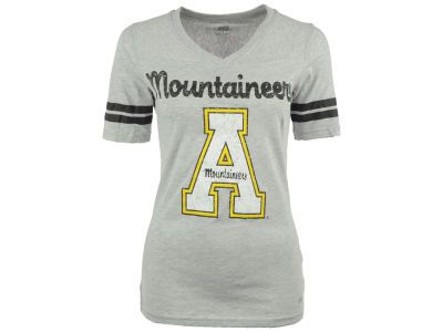 Appalachian State Mountaineers NCAA Women's LP Football V-Neck T-Shirt