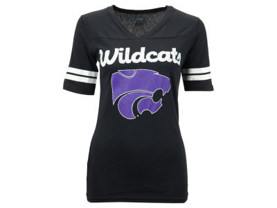 Kansas State Wildcats NCAA Women's LP Football V-Neck T-Shirt