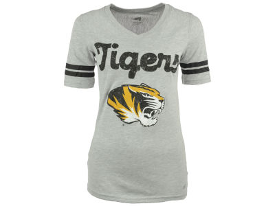Missouri Tigers NCAA Women's LP Football V-Neck T-Shirt