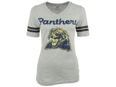 Pittsburgh Panthers NCAA Women's LP Football V-Neck T-Shirt